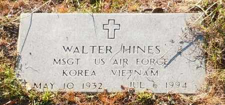 HINES (VETERAN 2WARS), WALTER - Walthall County, Mississippi   WALTER HINES (VETERAN 2WARS) - Mississippi Gravestone Photos
