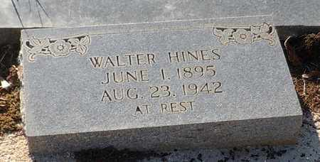 HINES, WALTER - Walthall County, Mississippi   WALTER HINES - Mississippi Gravestone Photos