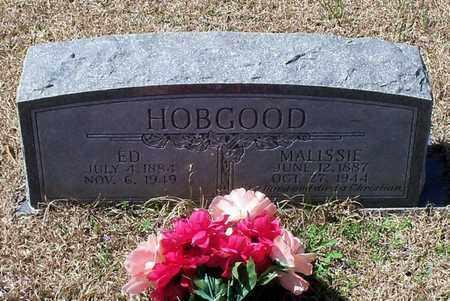 HOBGOOD, ED - Walthall County, Mississippi   ED HOBGOOD - Mississippi Gravestone Photos