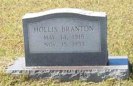 HOLLIS, BRANTON - Walthall County, Mississippi | BRANTON HOLLIS - Mississippi Gravestone Photos
