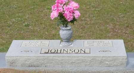 JOHNSON, EVON E - Walthall County, Mississippi | EVON E JOHNSON - Mississippi Gravestone Photos