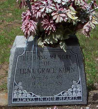 KUHN, EDNA GRACE - Walthall County, Mississippi | EDNA GRACE KUHN - Mississippi Gravestone Photos