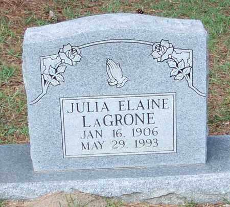 LAGRONE, JULIA ELAINE - Walthall County, Mississippi | JULIA ELAINE LAGRONE - Mississippi Gravestone Photos