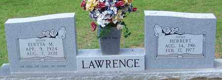 LAWRENCE, EUETTA M - Walthall County, Mississippi | EUETTA M LAWRENCE - Mississippi Gravestone Photos