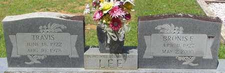 LEE, BRONIS E - Walthall County, Mississippi | BRONIS E LEE - Mississippi Gravestone Photos