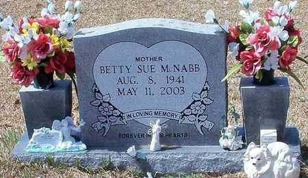 MCNABB, BETTY SUE - Walthall County, Mississippi | BETTY SUE MCNABB - Mississippi Gravestone Photos