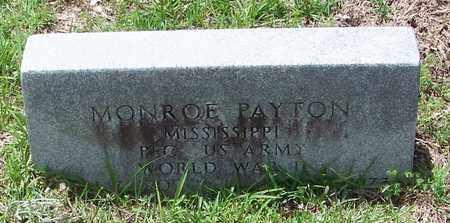 PAYTON (VETERAN WWII), MONROE - Walthall County, Mississippi | MONROE PAYTON (VETERAN WWII) - Mississippi Gravestone Photos