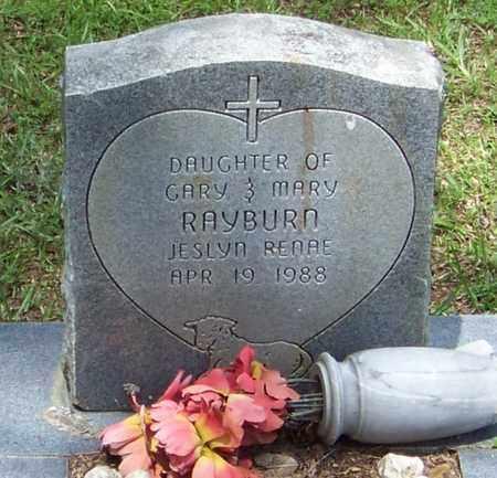 RAYBURN, JESLYN REDAE - Walthall County, Mississippi | JESLYN REDAE RAYBURN - Mississippi Gravestone Photos