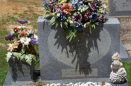 REID, LARRY R - Walthall County, Mississippi | LARRY R REID - Mississippi Gravestone Photos