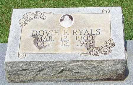 RYALS, DOVIE E - Walthall County, Mississippi | DOVIE E RYALS - Mississippi Gravestone Photos