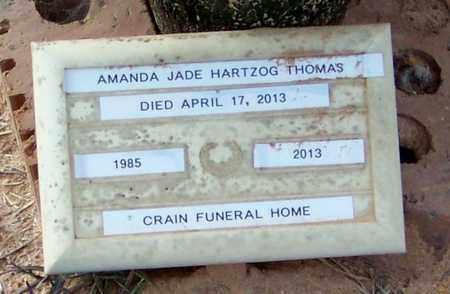 THOMAS, AMANDA JADE - Walthall County, Mississippi | AMANDA JADE THOMAS - Mississippi Gravestone Photos