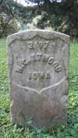 ATWOOD (VETERAN UNION), W C (NEW) - Warren County, Mississippi | W C (NEW) ATWOOD (VETERAN UNION) - Mississippi Gravestone Photos