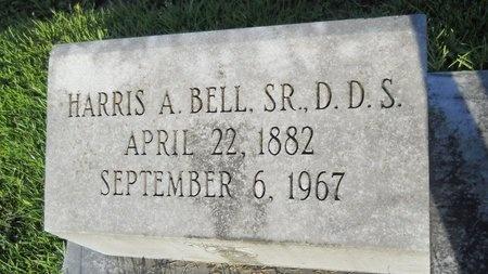 BELL, HARRIS A.,  SR DDS - Warren County, Mississippi   HARRIS A.,  SR DDS BELL - Mississippi Gravestone Photos