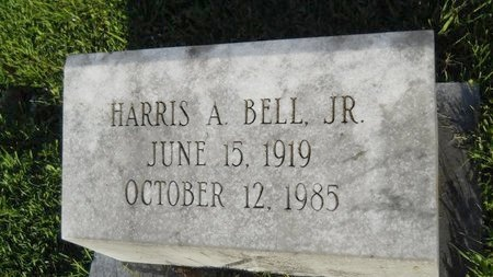 BELL, HARRIS A, JR - Warren County, Mississippi | HARRIS A, JR BELL - Mississippi Gravestone Photos