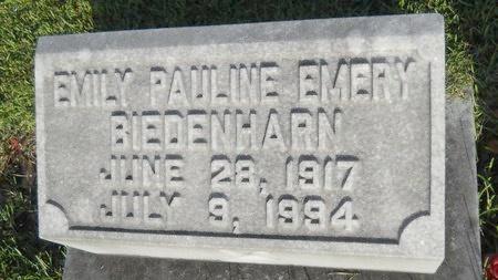 BIEDENHARN, EMILY PAULINE - Warren County, Mississippi   EMILY PAULINE BIEDENHARN - Mississippi Gravestone Photos