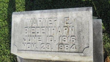 BIEDENHARN, WARNER E - Warren County, Mississippi | WARNER E BIEDENHARN - Mississippi Gravestone Photos
