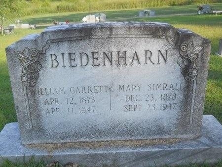 BIEDENHARN, WILLIAM GARRETT - Warren County, Mississippi   WILLIAM GARRETT BIEDENHARN - Mississippi Gravestone Photos