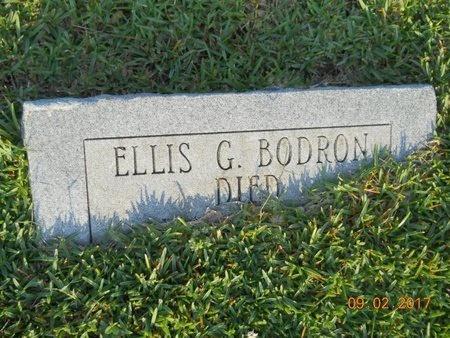BODRON, ELLIS G - Warren County, Mississippi | ELLIS G BODRON - Mississippi Gravestone Photos