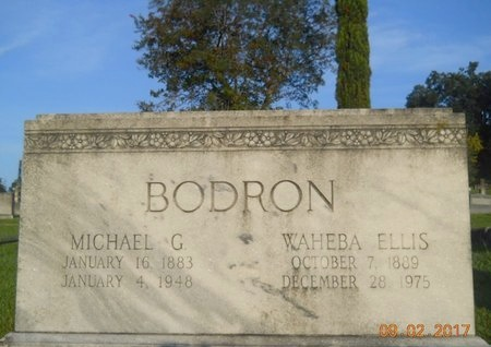 BODRON, MICHAEL G - Warren County, Mississippi | MICHAEL G BODRON - Mississippi Gravestone Photos