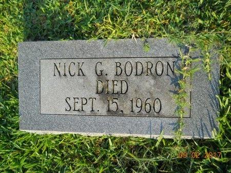 BODRON, NICK G - Warren County, Mississippi | NICK G BODRON - Mississippi Gravestone Photos