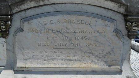 BONELLI, BARTHOLOMEW E S - Warren County, Mississippi   BARTHOLOMEW E S BONELLI - Mississippi Gravestone Photos