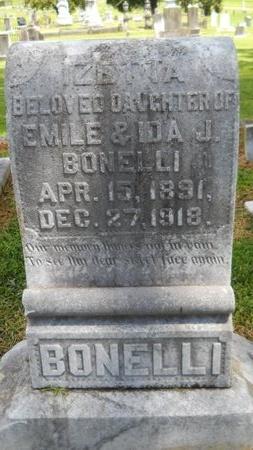 BONELLI, IZETTA - Warren County, Mississippi   IZETTA BONELLI - Mississippi Gravestone Photos