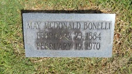 BONELLI, MAY - Warren County, Mississippi | MAY BONELLI - Mississippi Gravestone Photos
