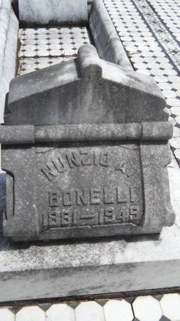 BONELLI, NUNZIO A - Warren County, Mississippi | NUNZIO A BONELLI - Mississippi Gravestone Photos
