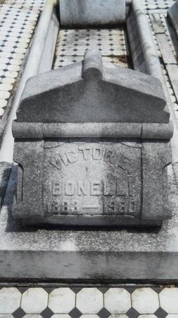 BONELLI, VICTOR E - Warren County, Mississippi   VICTOR E BONELLI - Mississippi Gravestone Photos