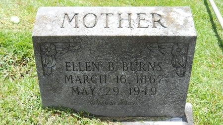 BURNS, ELLEN B - Warren County, Mississippi   ELLEN B BURNS - Mississippi Gravestone Photos