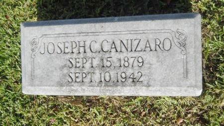 CANIZARO, JOSEPH C - Warren County, Mississippi | JOSEPH C CANIZARO - Mississippi Gravestone Photos