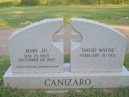 CANIZARO, MARY JO - Warren County, Mississippi | MARY JO CANIZARO - Mississippi Gravestone Photos