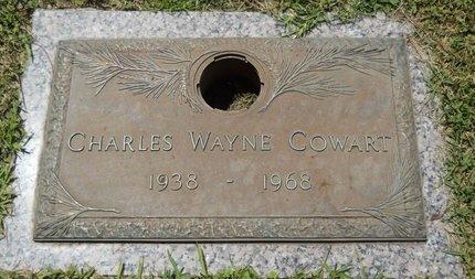 COWART, CHARLES WAYNE - Warren County, Mississippi | CHARLES WAYNE COWART - Mississippi Gravestone Photos