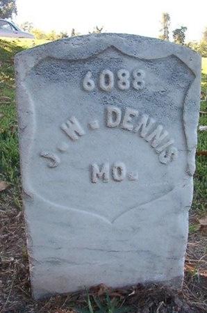 DENNIS (VETERAN UNION), J W (NEW) - Warren County, Mississippi | J W (NEW) DENNIS (VETERAN UNION) - Mississippi Gravestone Photos
