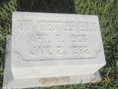 ELLIS, ANN - Warren County, Mississippi | ANN ELLIS - Mississippi Gravestone Photos