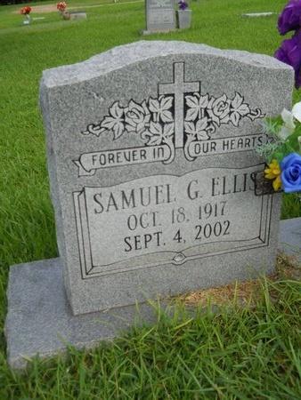 ELLIS, SAMUEL G - Warren County, Mississippi | SAMUEL G ELLIS - Mississippi Gravestone Photos