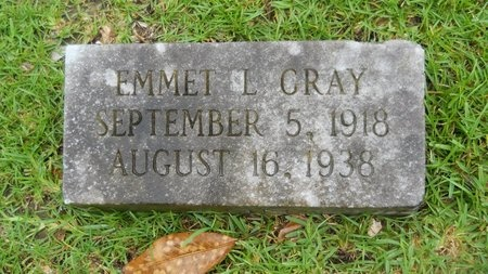 GRAY, EMMET L - Warren County, Mississippi   EMMET L GRAY - Mississippi Gravestone Photos
