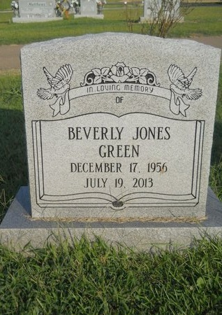 GREEN, BEVERLY - Warren County, Mississippi | BEVERLY GREEN - Mississippi Gravestone Photos