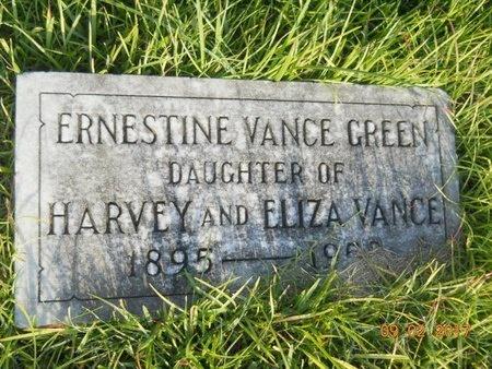 GREEN, ERNESTINE - Warren County, Mississippi   ERNESTINE GREEN - Mississippi Gravestone Photos