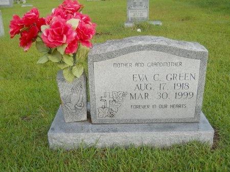 GREEN, EVA C - Warren County, Mississippi | EVA C GREEN - Mississippi Gravestone Photos