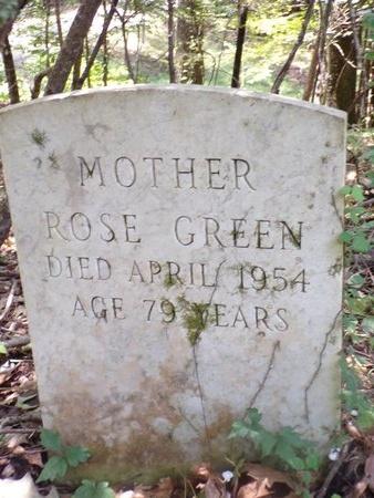 GREEN, ROSE - Warren County, Mississippi | ROSE GREEN - Mississippi Gravestone Photos