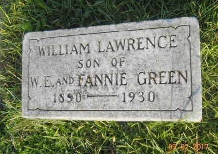 GREEN, WILLIAM LAWRENCE - Warren County, Mississippi | WILLIAM LAWRENCE GREEN - Mississippi Gravestone Photos