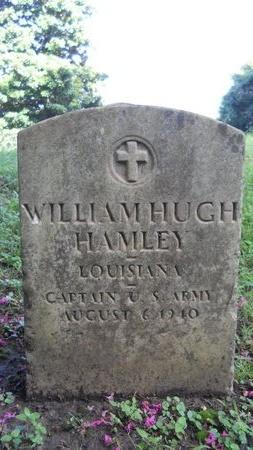 HAMLEY (VETERAN), WILLIAM HUGH (NEW) - Warren County, Mississippi | WILLIAM HUGH (NEW) HAMLEY (VETERAN) - Mississippi Gravestone Photos