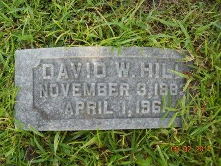 HILL, DAVID W - Warren County, Mississippi | DAVID W HILL - Mississippi Gravestone Photos