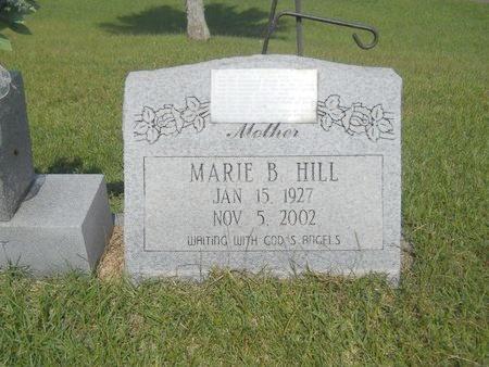 HILL, MARIE B - Warren County, Mississippi | MARIE B HILL - Mississippi Gravestone Photos