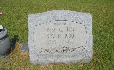 HILL, RUBY G - Warren County, Mississippi   RUBY G HILL - Mississippi Gravestone Photos