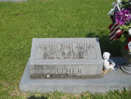 JEFFERS, JOHNNIE WILEY - Warren County, Mississippi | JOHNNIE WILEY JEFFERS - Mississippi Gravestone Photos