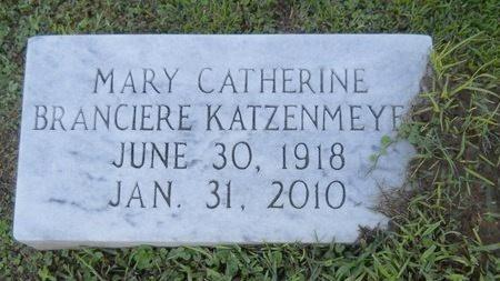 KATZENMEYER, MARY CATHERINE - Warren County, Mississippi | MARY CATHERINE KATZENMEYER - Mississippi Gravestone Photos