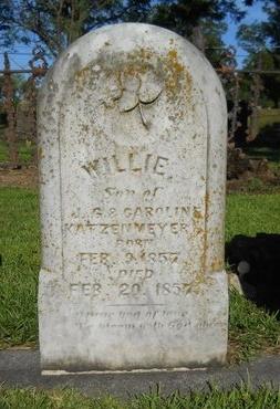 KATZENMEYER, WILLIE - Warren County, Mississippi | WILLIE KATZENMEYER - Mississippi Gravestone Photos