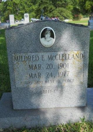 MCCLELLAND, MILDRED E - Warren County, Mississippi | MILDRED E MCCLELLAND - Mississippi Gravestone Photos